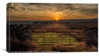 Gateway to the Sun, Canvas Print