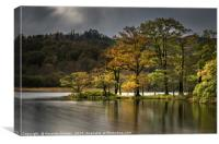 Rydal Water in Autumn, Canvas Print