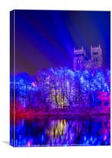 Durham Catherdral at Lumière, Canvas Print