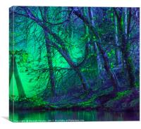The Eerie Trees, Canvas Print
