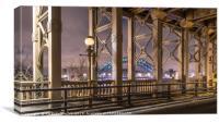 The Tyne Bridge Newcastle , Canvas Print