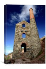 Tin Mine , Canvas Print
