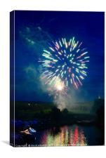 Fireworks                    , Canvas Print