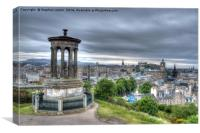 Edinburgh Skyline, Canvas Print