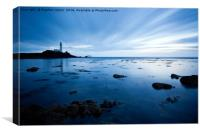 Blue Moods at Turnberry, Canvas Print