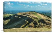 British Camp Malvern Hills , Canvas Print