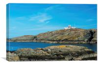 Porth Eilian Cove Anglesey North Wales, Canvas Print