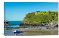 Abercastle Beach Pembrokeshire Coast, Canvas Print