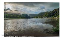 High Tide at Tintern, Canvas Print