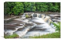 Upper Aysgarth Falls Wensleydale Yorkshire Dales, Canvas Print