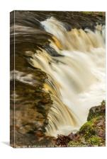 The Edge of the Falls, Canvas Print