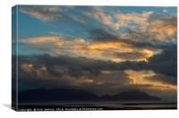 Early Morning Over Hofn, Iceland, Canvas Print