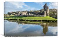 Ogmore Castle Ogmore by Sea, Canvas Print