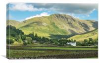 Grey Crag Above Hartsop Lake District, Canvas Print