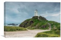 The Lighthouse Llanddwyn Island, Canvas Print
