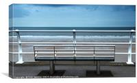 The Seafront at Aberavon, Canvas Print