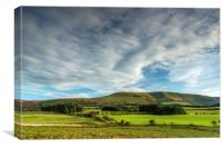 Fan Frynach Hill in the Central Brecon Beacons, Canvas Print