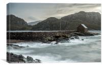 Diabaig Harbour off Loch Torridon Scotland, Canvas Print