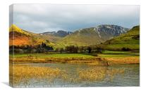 Brothers Water and High Street Lake District , Canvas Print