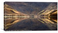 buttermere early morning in the lake district, Canvas Print