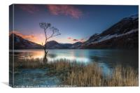 Buttermere Sunrise, lake district., Canvas Print