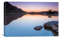 Sunrise over Llyn Cregenin, Canvas Print