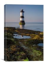 Penmon Lighthouse Reflection, Canvas Print