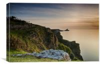Worms head Sunset, Canvas Print