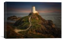Llanddwyn Island Returned, Canvas Print