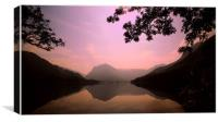 Buttermere sunrise , Canvas Print