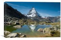 Matterhorn , Canvas Print