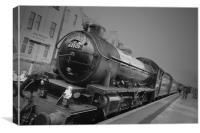 Highland railway, Canvas Print
