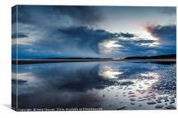 Newborough Beach Anglesey, Canvas Print