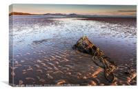 Aberffraw Beach Anglesey, Canvas Print