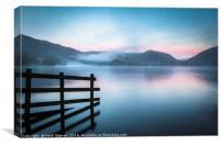 Grasmere Lake at Sunrise, Canvas Print