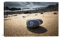 Marloes Sands in Pembrokeshire, Wales UK, Canvas Print