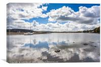 Red Wharf Bay, Anglesey, Canvas Print