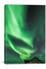 Aurora Borealis, Iceland, Canvas Print