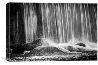 Falls at Llyn Y Fan Fach, Canvas Print