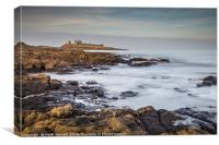 Dunstanburgh Castle Northumberland, Canvas Print