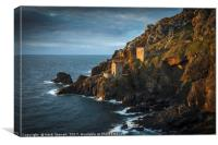 The Two Engine Houses at Botallack, Canvas Print