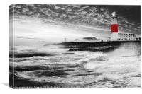 Portland Storm, Canvas Print
