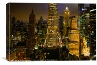 Downtown New York., Canvas Print