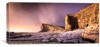 Nash Point, South Wales., Canvas Print