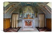 Italian Chapel Orkney, Canvas Print