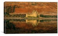 Evening Light Kilchurn Castle, Canvas Print