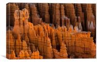 Hoodoos Bryce Canyon, Canvas Print