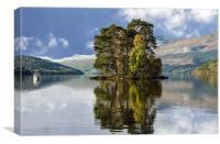 Loch Tay, Canvas Print