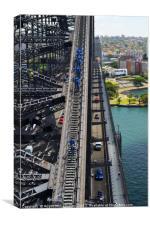 Bridge Climb, Canvas Print