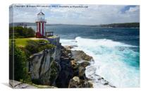 Hornby Lighthouse, Canvas Print
